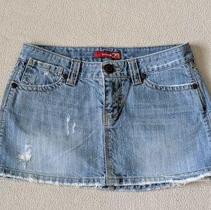 Vtg Forever 21 Denim Skirt Women's Small